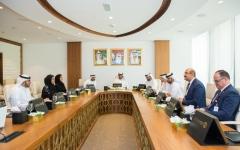 الصورة: لجنة «دبي الرياضي الدولي» تبحث الاستعدادات لتنظيم النسخة 13