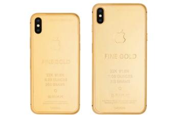الصورة: نسخة ذهبية من هواتف آيفون الجديدة بـ 95 ألف دولار