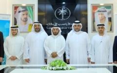 الصورة: تطوير التعاون بين «أراضي دبي» و«المجمعات الإبداعية»