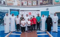 الصورة: «دبي الجنوب» تقدّم منحاً لـ11 طالباً من مركز راشد لأصحاب الهمم