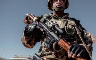 الصورة: الجيش الجزائري يعلن مقتل ارهابيين
