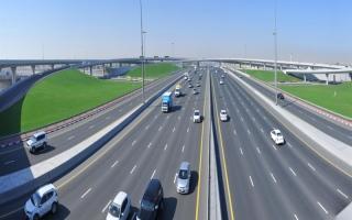 الصورة: الانتهاء من ربط طريق مليحة بخورفكان الغربي العام المقبل