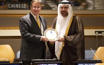 الصورة: «محمد بن راشد للمعرفة» شريكاً عالمياً للأمم المتحدة
