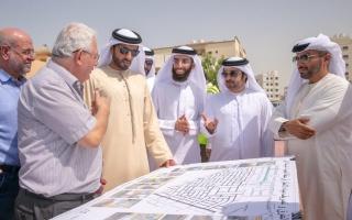 الصورة: إنجاز مشروع طرق النعيمية بـ 150 مليون درهم