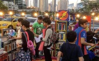 الصورة: مكتبة «بلا موظفين» على مدار الساعة في دبي