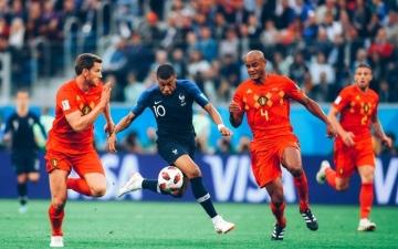 الصورة: «شراكة» بين فرنسا وبلجيكا في صدارة تصنيف «فيفا»