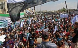 الصورة: حرب اغتيالات تخرق الهدوء على جبهة إدلب