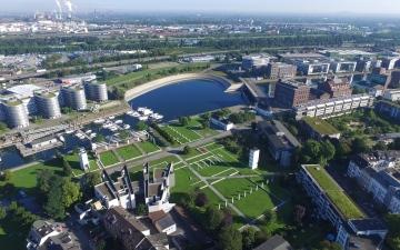 الصورة: صينيون يحوّلون «دويسبورغ» الألمانية إلى مدينة ذكية