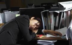 الصورة: تقنية يابانية لتنشيط الموظفين المجهدين