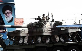 الصورة: قتلى من الحرس الثوري الإيراني في هجوم على عرض عسكري