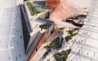 الصورة: تصميم تفاعلي لجناح الفرص في «إكسبو 2020 دبي»