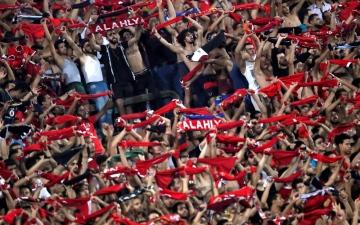"""الصورة: الأهلي يقسو على """"حرية"""" برباعية ويضرب موعداً لـ """"الوفاق"""""""
