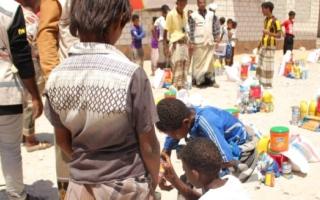 الصورة: 38 ألف يمني يستفيدون من مساعدات «الهلال» في الحديدة وحضرموت