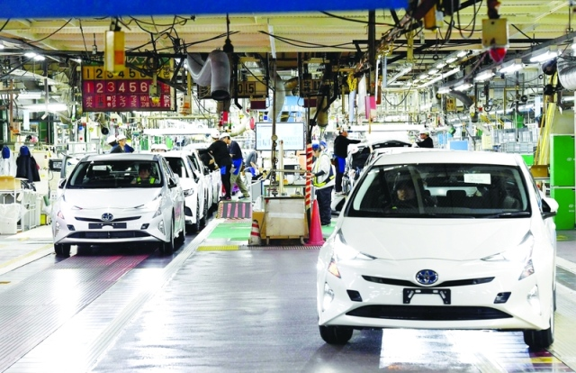 The Anese Car Manufacturer Toyota Announced Today That It Will Pull More Than 2 4 Hybrid Cars Due To A Collision Could Cause Just