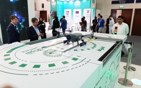 الصورة: دبي تودّع مفاهيم الأمن التقليدية بدوريات طائرة ذكية