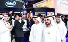 الصورة: محمد بن راشد: الإمارات تُفعّل حواراً بنّاءً بين الأقطاب المؤثّرة في مستقبل الإنسان