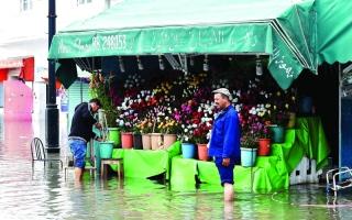الصورة: أمطار غير مسبوقة في تونس منذ 40 عاماً