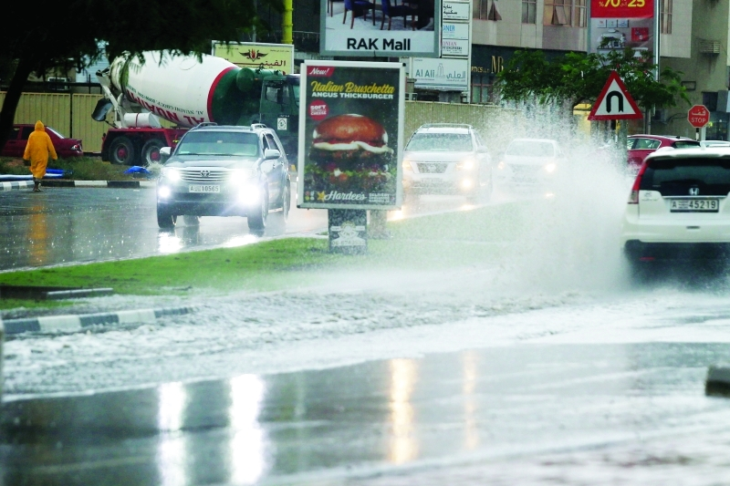 هطول أمطار وهبوب رياح خلال الساعات المقبلة