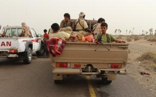 الصورة: الحديدة تستنزف الميليشيا.. مقتل 100 خلال يومين