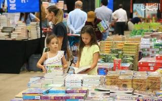 الصورة: ملايين الكتب بأسعار مخفضة تجذب جمهور الكلمة في دبي