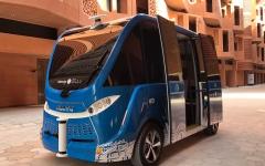 الصورة: مدينة مصدر تعتمد أول مركبة ذاتية القيادة