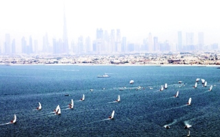 «الشراعية» تعكس ماضي دبي وحاضرها