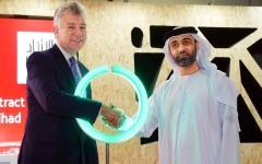 الصورة: مطارات دبي والاتحاد لخدمات الطاقة تعززان الاستدامة البيئية