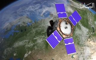 """الصورة: """"خليفة سات"""" إنجاز إماراتي يحلق في الفضاء"""