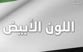الصورة: اكتشفوا المعاني التي يرمز إليها اللون الأبيض في العلم الإماراتي