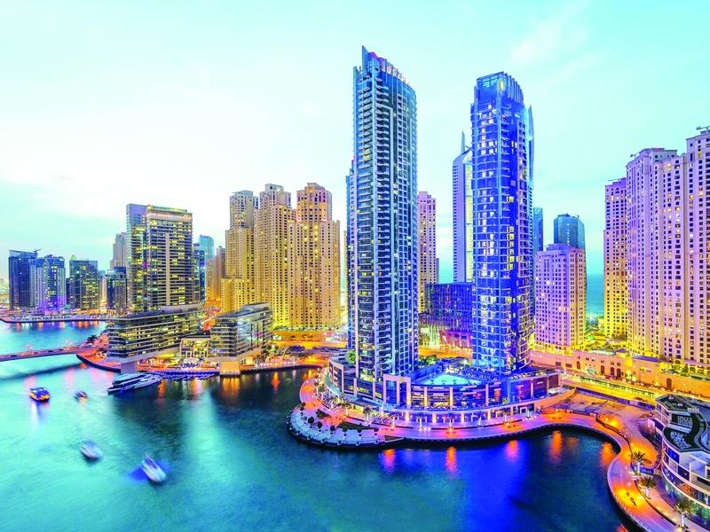 الصورة : Ⅶ  تنوع هندسي ومعماري يميز عقارات دبي        البيان