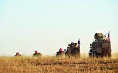 الصورة: قتلى بقصف النظام المنطقة العازلة بإدلب