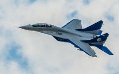 الصورة: تحطم طائرة عسكرية روسية في مصر