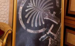 الصورة: نخلة جميرا أول صورة يلتقطها القمر الصناعي خليفة سات