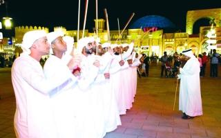 الصورة: الصورة: «كنوز التراث الإماراتي» تتلألأ في القرية العالمية