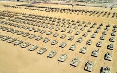 """الصورة: انطلاق تدريب """"درع العرب -1"""" في مصر"""
