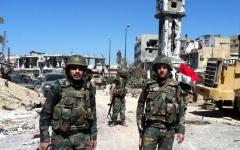 الصورة: الجيش السوري يسرح دفعة من عناصره