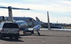 الصورة: اصطدام طائرتين سياحيتين فوق كندا