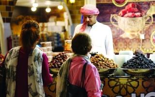 الصورة: الصورة: القرية العالمية..«تيكيت» مفتوح لأكلات 78 دولة في دبي