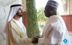 الصورة: محمد بن راشد يستقبل نائب رئيس غانا