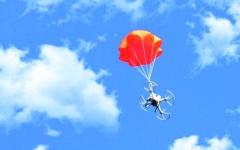 الصورة: مظلة لإنقاذ طائرات الدرون