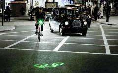 الصورة: دراجة مُضيئة