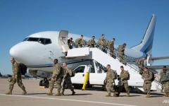 الصورة: نشر 5000 جندي أميركي قرب الحدود المكسيكية لمواجهة قوافل المهاجرين