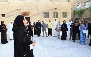 الصورة: المرشد السياحي الإماراتي.. سفير الدولة إلى العالم