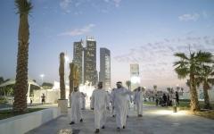 الصورة: محمد بن زايد: أبوظبي تواصل ترسيخ حضورها القوي مقصداً سياحياً عالمياً