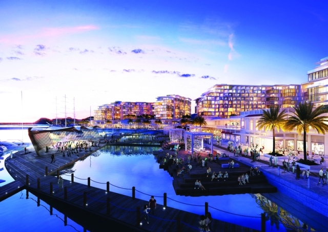 داماك العالمية تبدأ تطوير الواجهة البحرية لميناء السلطان قابوس