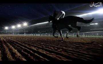 الصورة: خيول في ميدان التحدي