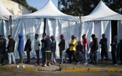 الصورة: أميركا تعلّق منح اللجوء للمهاجرين بطريقة غير شرعية