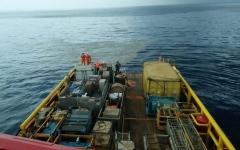 """الصورة: إندونيسيا توقف البحث عن جثث ركاب  طائرة """"ليون إير"""""""