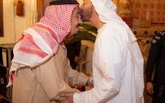 الصورة: خادم الحرمين الشريفين ومحمد بن زايد يبحثان تعزيز العلاقات الأخوية والقضايا الإقليمية