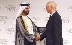 الصورة: الإمارات و«دافوس».. شراكة لبناء الإنسان